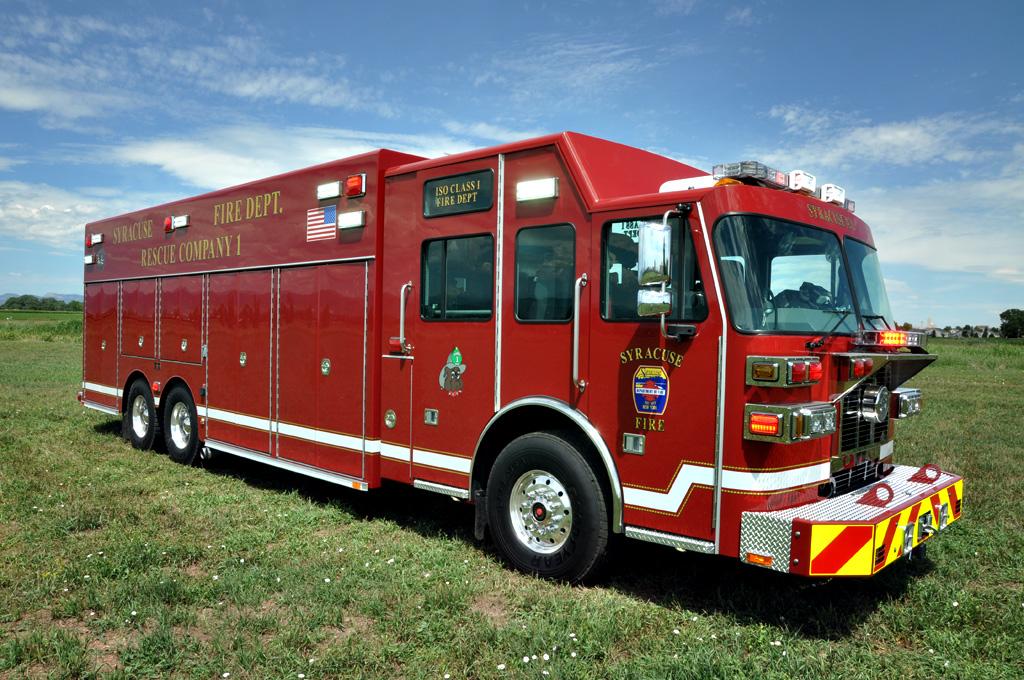Syracuse Ny Fd Heavy Rescue Svi Trucks