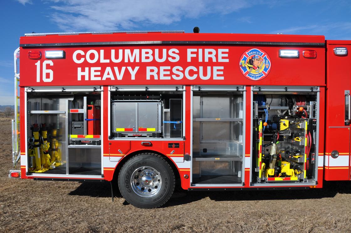 Columbus Oh Fd Heavy Rescue Svi Trucks