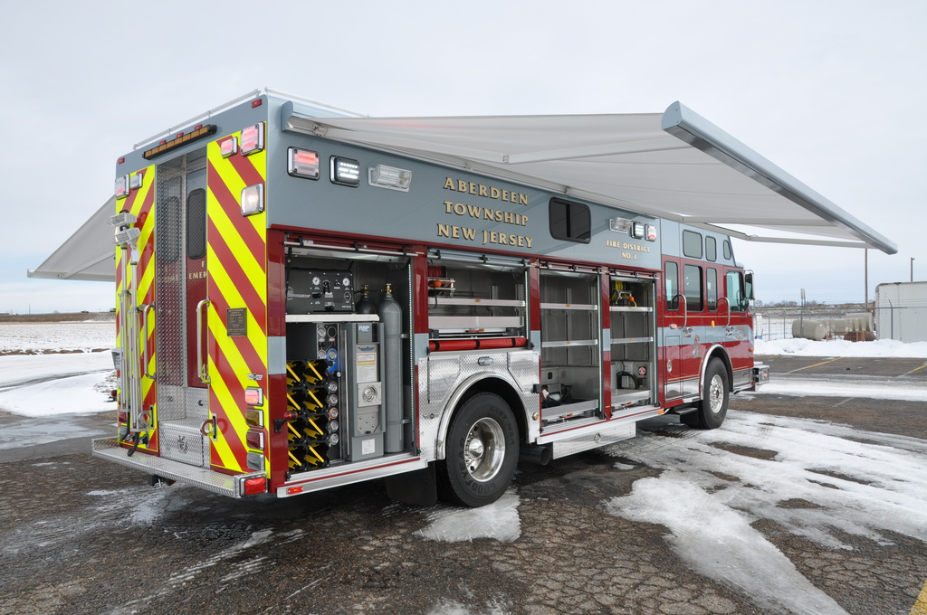 Aberdeen Nj Fd Heavy Rescue Svi Trucks