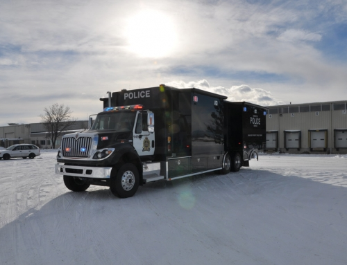 Edmonton, AB PD-Checkpoint Truck