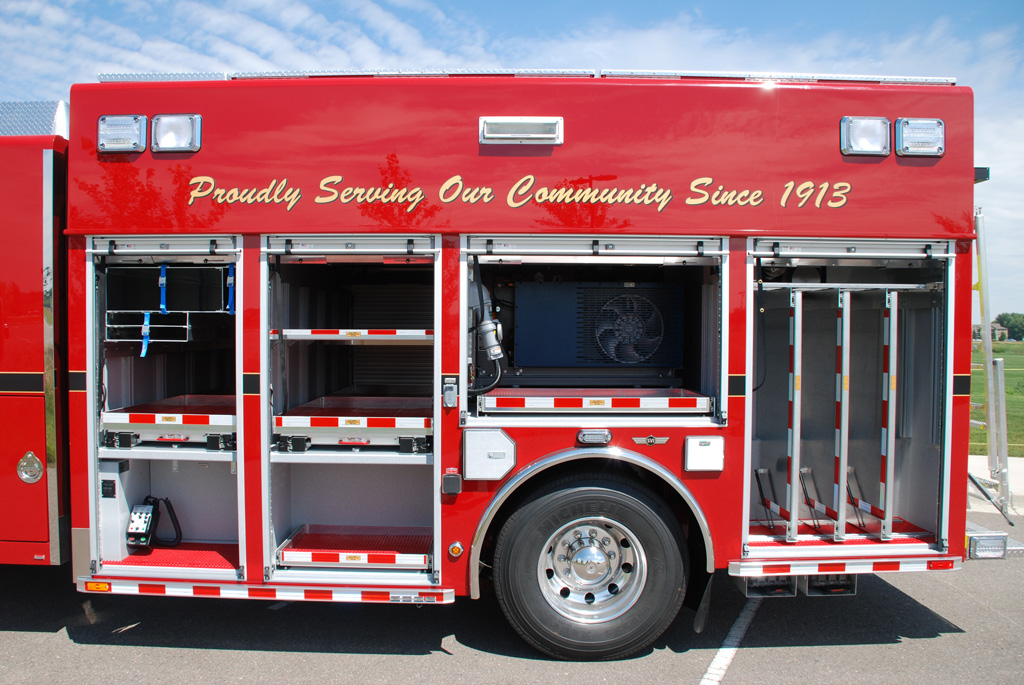 Fire Command Vehicle Cabinets