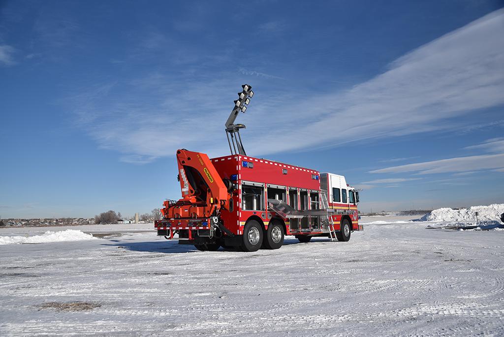China Fs Heavy Rescue Svi Trucks