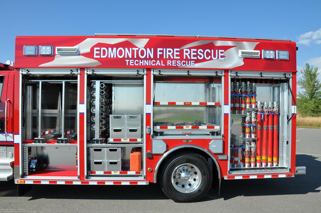 Edmonton Ab Fd Technical Rescue Svi Trucks