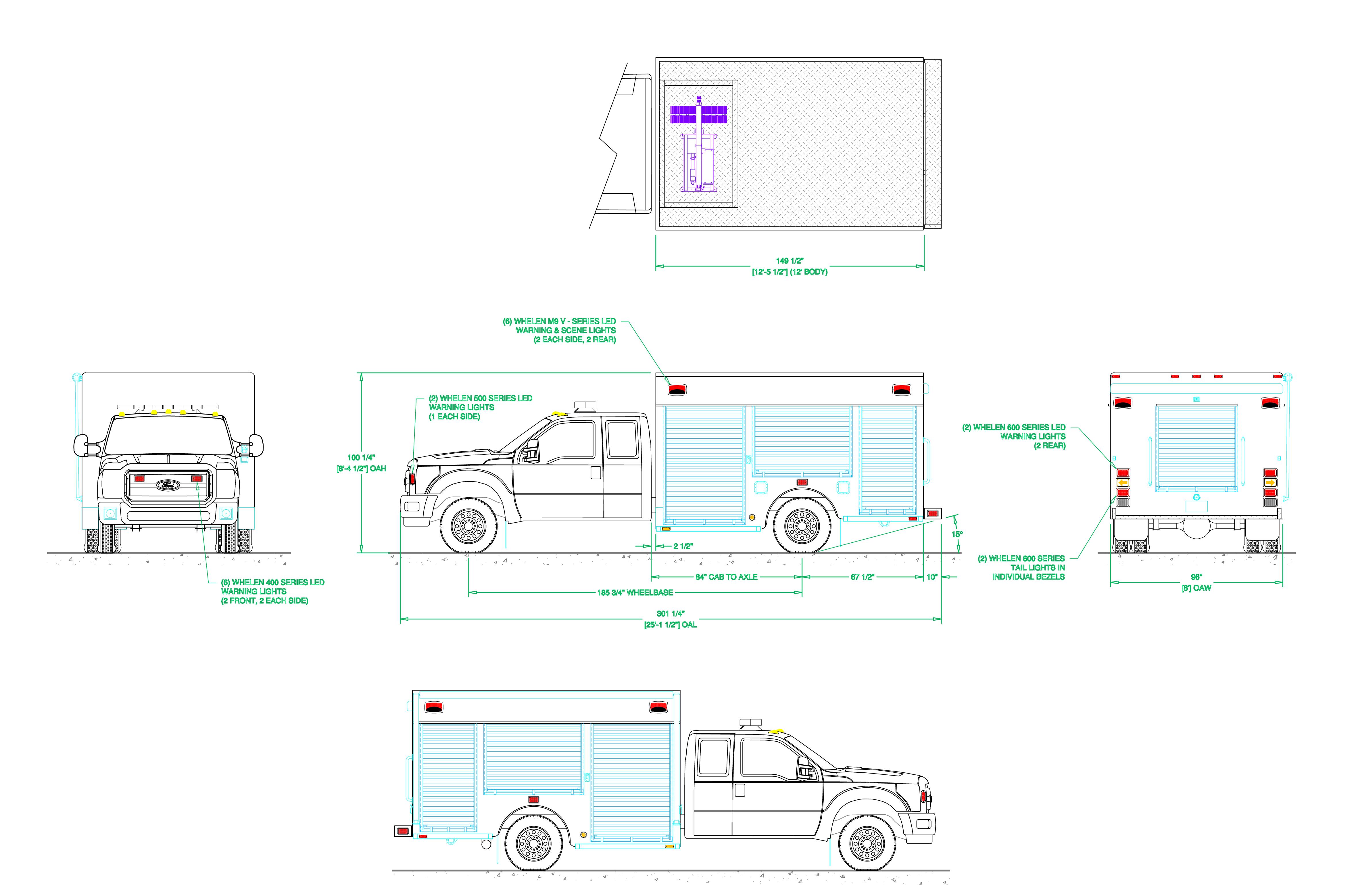 A Diagram For Whelen 400 Series Detailed Schematics Wiring Ulf44 East Point Ga Fire Department Air Light 1014 Svi Trucks