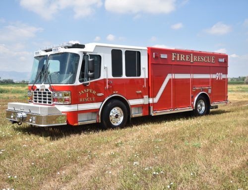 Jasper Fire Department Heavy Rescue #997