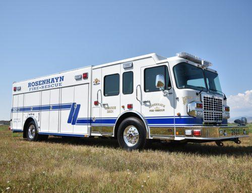 Rosenhayn Fire Department Heavy Rescue #998