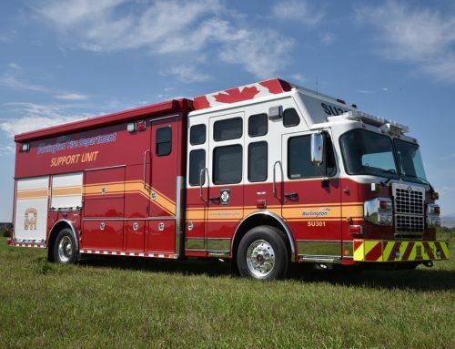 Burlington Fire Department Mobile Command Center #986