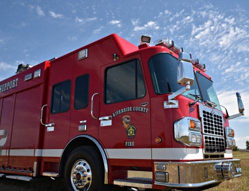 Riverside, CA County Fire Department Air Light #996