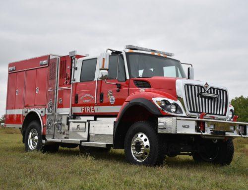 San Luis Obispo Fire Department Type 3 Wild land Truck #994