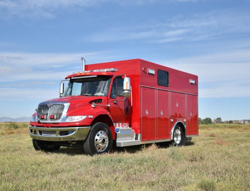 Fifth District, CO Fire Department Dive Truck #1003