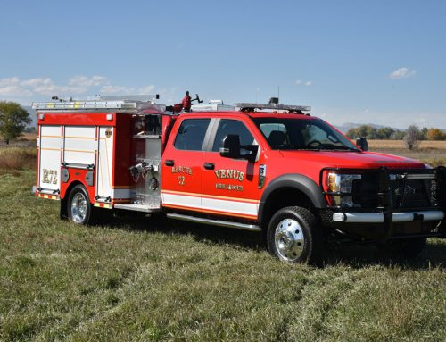Venus Fire Department Mini- Pumper Truck #984