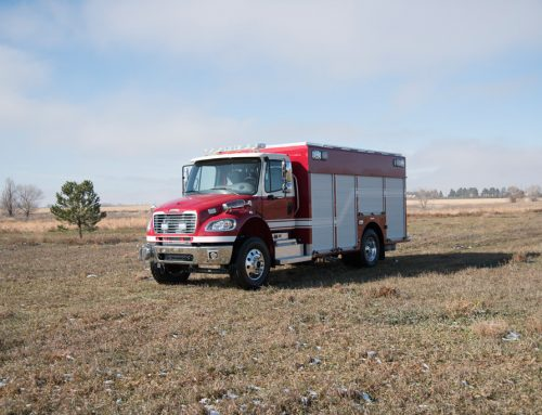 Scottsbluff, NE Fire Department Medium Rescue Truck # 1012