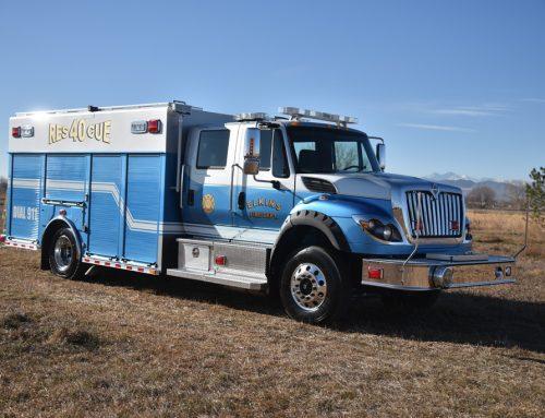 Elkins, WV Fire Department Medium Rescue Truck # 1018