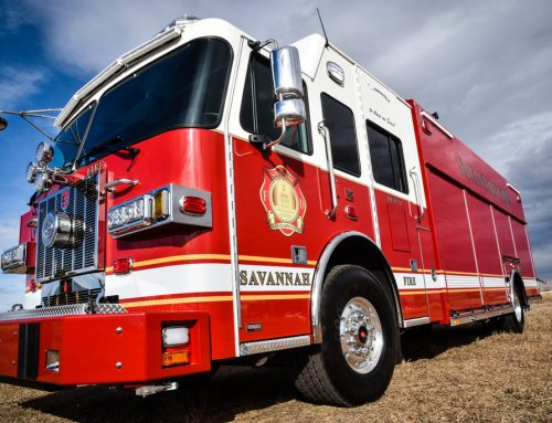 Savannah, GA Fire Department Heavy Rescue Truck #1021