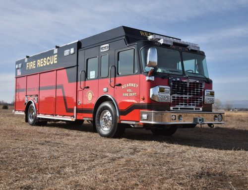 Kearney, NE Fire Department Heavy Rescue Truck #1019