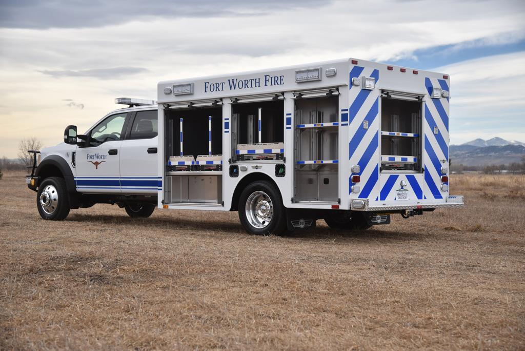 Fort Worth, TX Fire Department Dive Truck #1000 - SVI Trucks