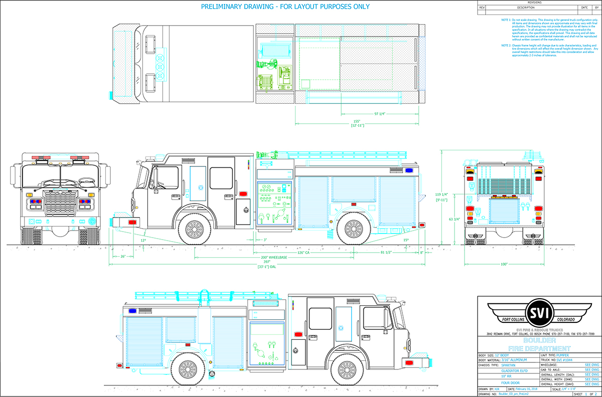 Boulder Pumper Fire Truck Custom Trucks Svi Spartan Engine Pump Panel Diagram About