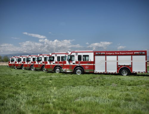 Calgary Fire Department Heavy Rescue #1027-1031