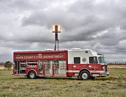 Napa County, CA Fire Department Haz-Mat #1026
