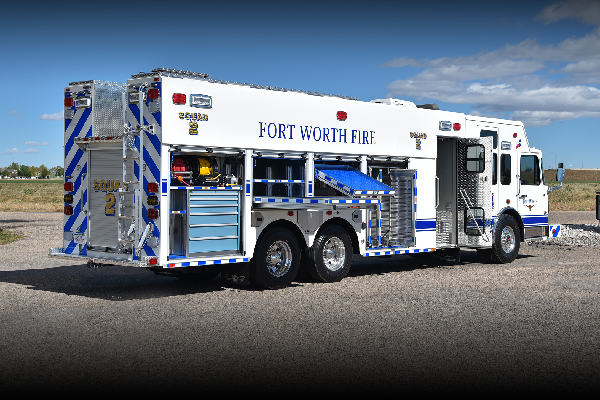 Fort Worth Tx Fire Department 1057 Svi Trucks