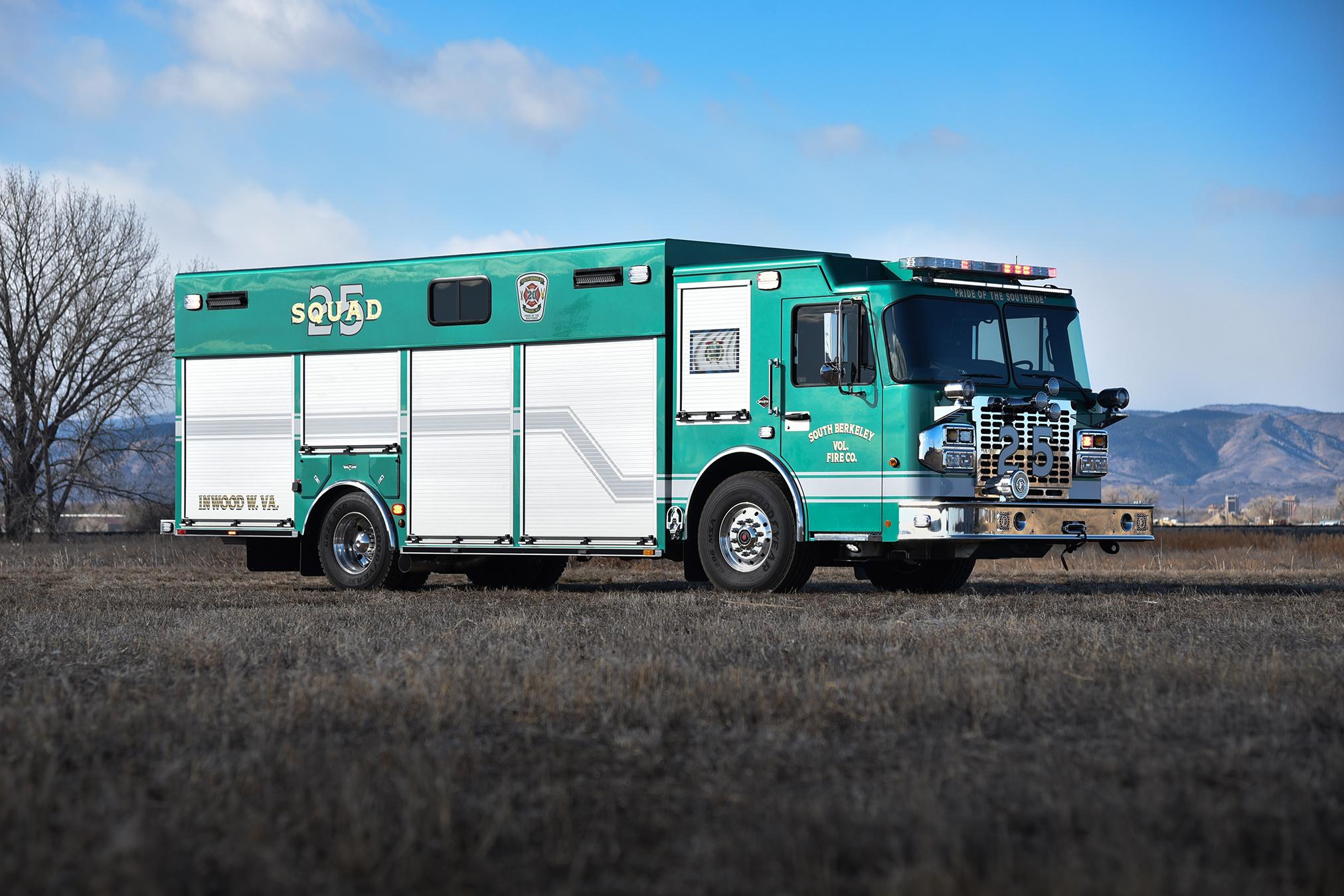 South Berkeley, WV FD #1049 - SVI Trucks